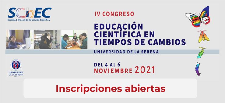 Inscripciones Congreso SChEC 2021
