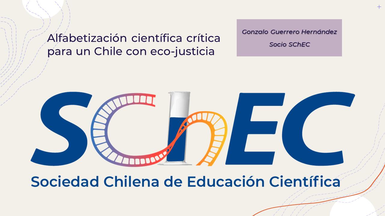 Alfabetización científica crítica  para un Chile con eco-justicia